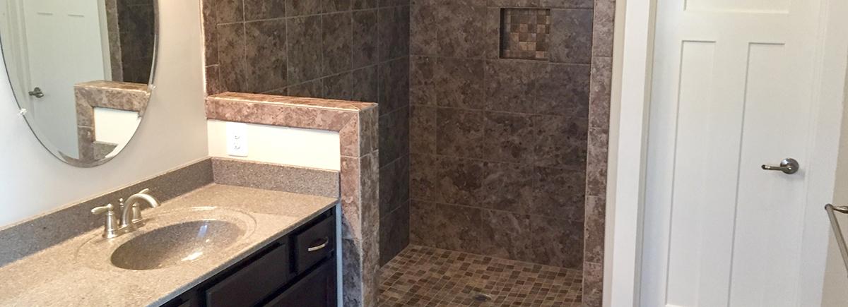 Custom Home Builder Hepler Homes - Bathroom remodeling winchester va