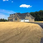 Completed Custom Built Home Three Car Garage