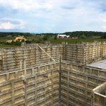 Custom Built Home Basement Foundation