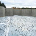 Custom Built Home Basement Foundation Poured