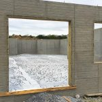Custom Built Home Walk out Basement Foundation