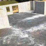 Custom Built Home Walk out Basement Foundation poured