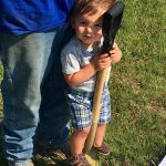 Even the smallest can help with groundbreaking in Stephens City