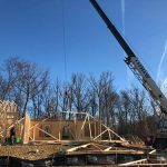 House Framing in Stephens City