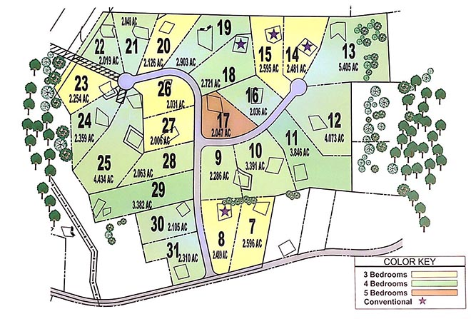 Mountain Vista Site Plot Frederick County