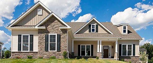 New Custom Home Exterior