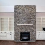 New Custom Home Fire Place