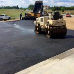 Paving a new driveway in Kernstown