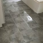 Progress Gallery Freshly laid and grouted tile