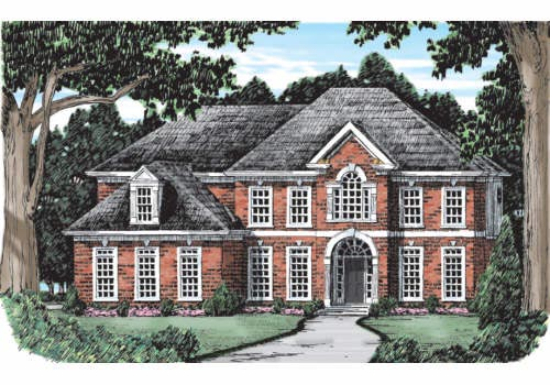 Willow Lake Home Plan Frederick County