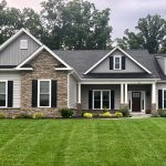 Custom Stone Exterior on New Home