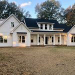 New Custom Home with Custom Exterior