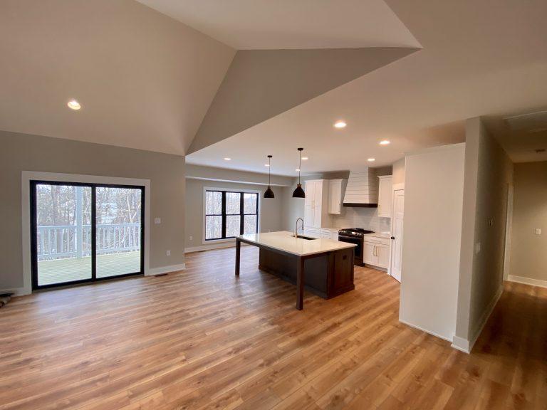 Open Floor Plan Kitchen and Living Room