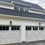 Custom Two Door Garage