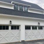 Custom Two Door Garage