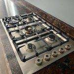 Custom Kitchen Gas Stove