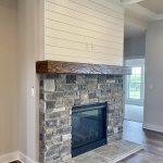 New Custom Home Fireplace