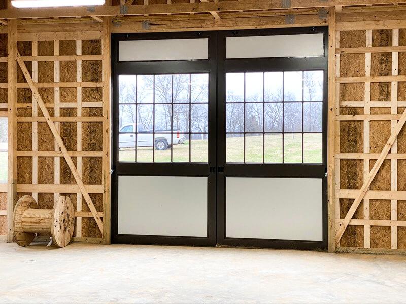Barn Construction Interior