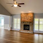 Custom Home Fireplace
