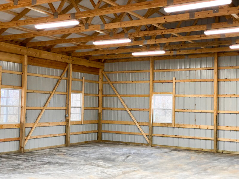 New Barn Interior