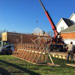 New House Garage Construction